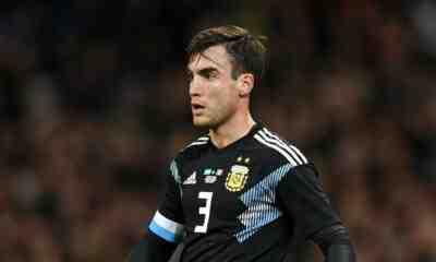Nicolás Tagliafico en la Selección Argentina