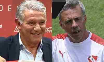 """Jorge Burruchaga puso en duda la continuidad de Pusineri: """"Haré un balance por resultados y nivel"""""""
