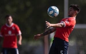 Juan Pacchini tenía chances de ser titular en Independiente, pero se lesionó y se perderá el partido ante Central Córdoba en el Libertadores de América.