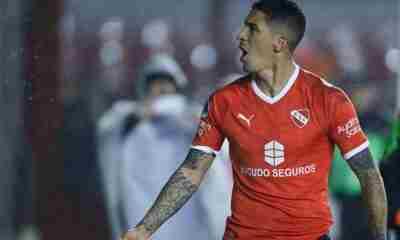 El Tucu Hernández no pudo entrenarse con normalidad durante la práctica de este miércoles, después de una larga recuperación.
