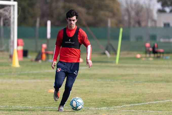 Independiente entrena en Villa Domínico