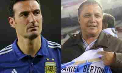 Daniel Bertoni, durísimo con Lionel Scaloni