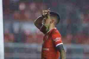 Tucu Hernández, ¿con esperanza para el sábado?