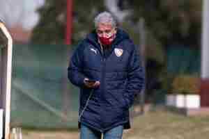 Jorge Burruchaga se refirió a la actualidad de Independiente.