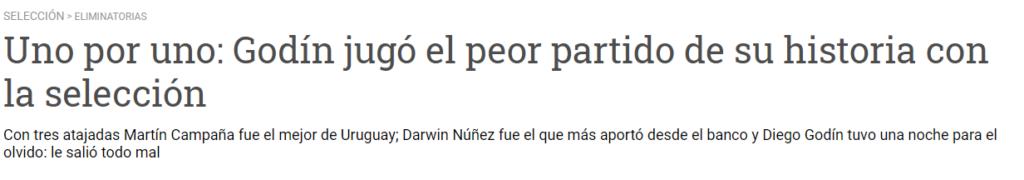 Martín Campaña, tarde para el olvido y curiosa mirada de los medios uruguayos