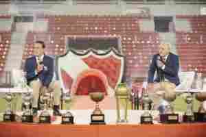 Pepé Santoro y Chivo Pavoni recibieron un lindo saludo de Ricardo Bochini.