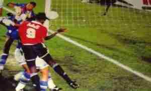 Goleada al Cruzeiro y pase a la final de la Supercopa 94