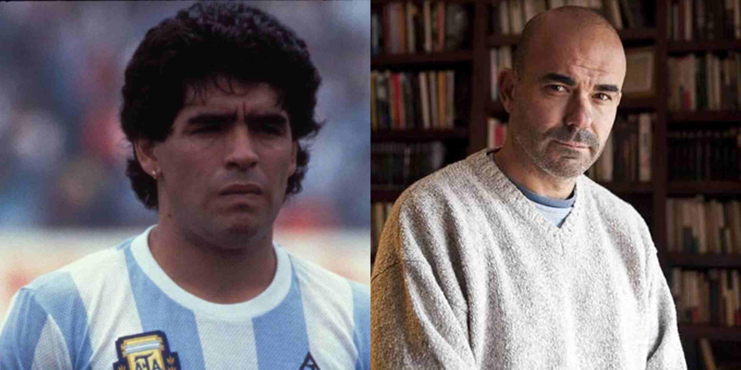 """Maradona por Sacheri: """"Me van a tener que disculpar"""""""