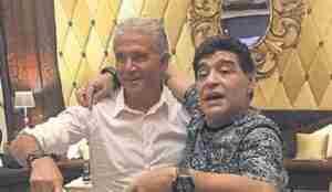 Jorge Burruchaga, completamente emocionado al recordar a Maradona