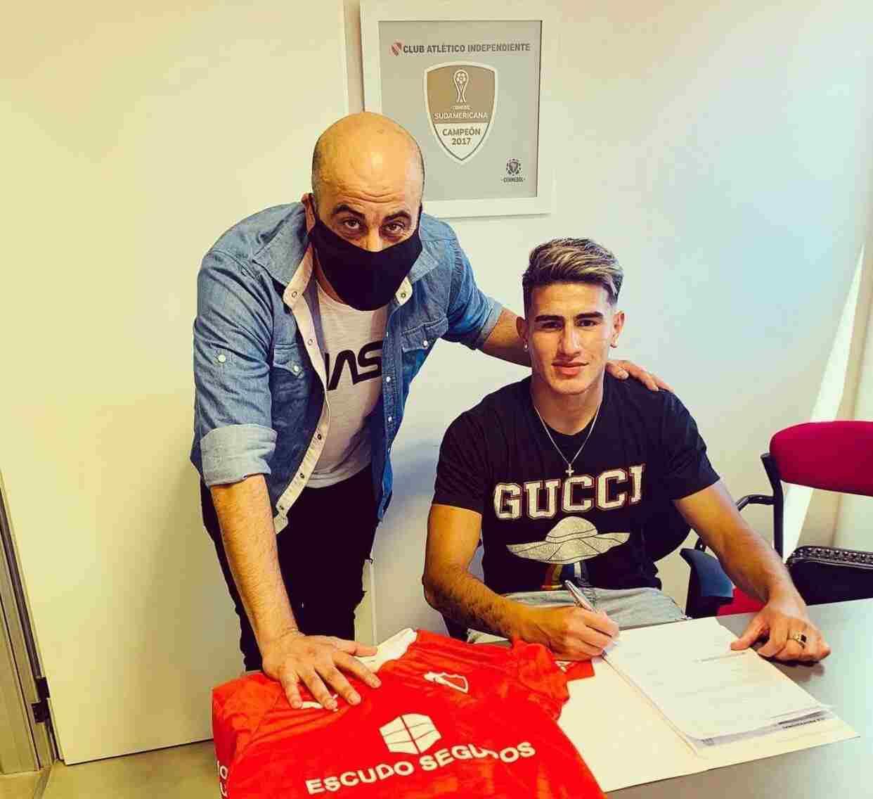 Independiente le renovó el contrato a un juvenil