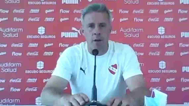 Lucas Pusineri reveló cuál es el aspecto a mejorar de este Independiente