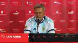 """Lucas Pusineri: """"El equipo está demostrando Compromiso Actitud e Intensidad"""""""