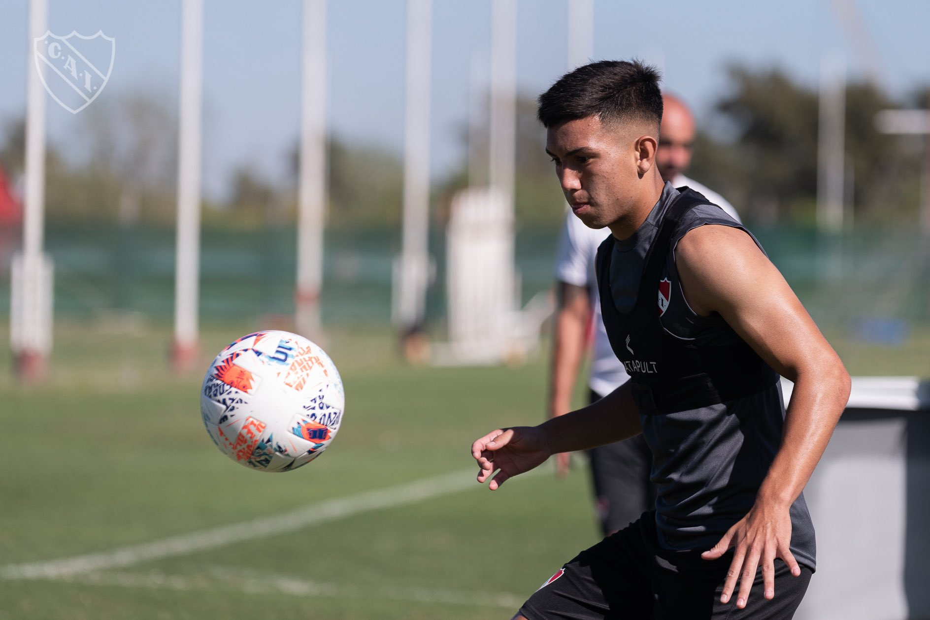"""Alan Velasco: """"El día que debuté en Independiente fue el día mas feliz de mi vida"""""""