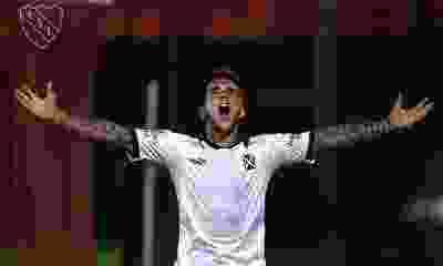 """Fabricio Bustos: """"Estoy contento por el gol y por la victoria"""""""