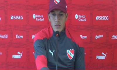 """Lucas Romero: """"El partido del domingo es una final"""""""