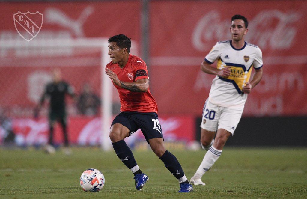 El volante de Independiente fue la figura ante Boca