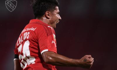 Sebastián Palacios puso al frente a Independiente
