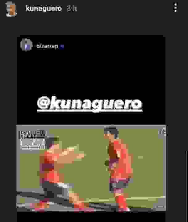 El Kun Aguero y un recuerdo de Independiente