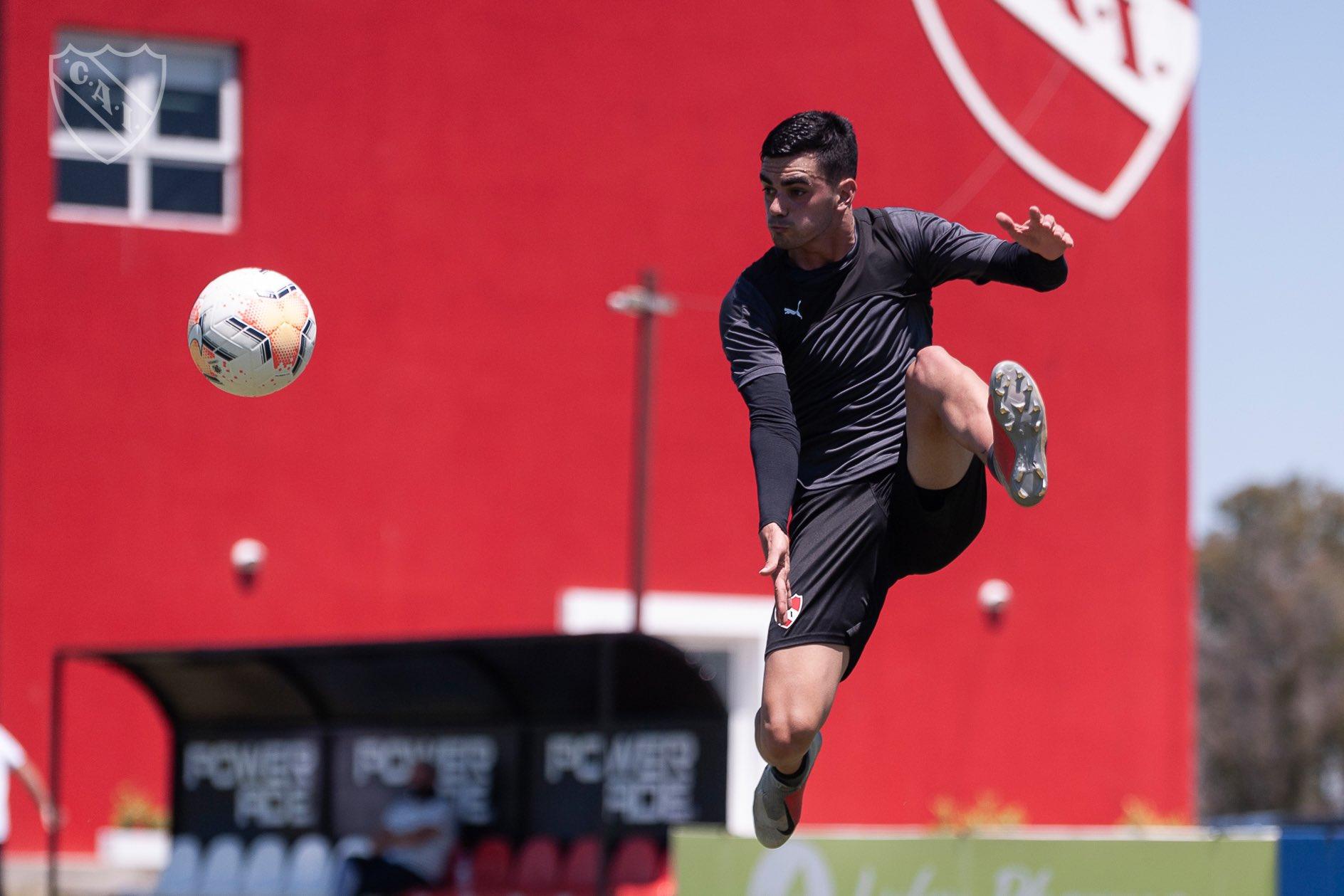 Soñora va a renovar su contrato con Independiente hasta diciembre del 2022
