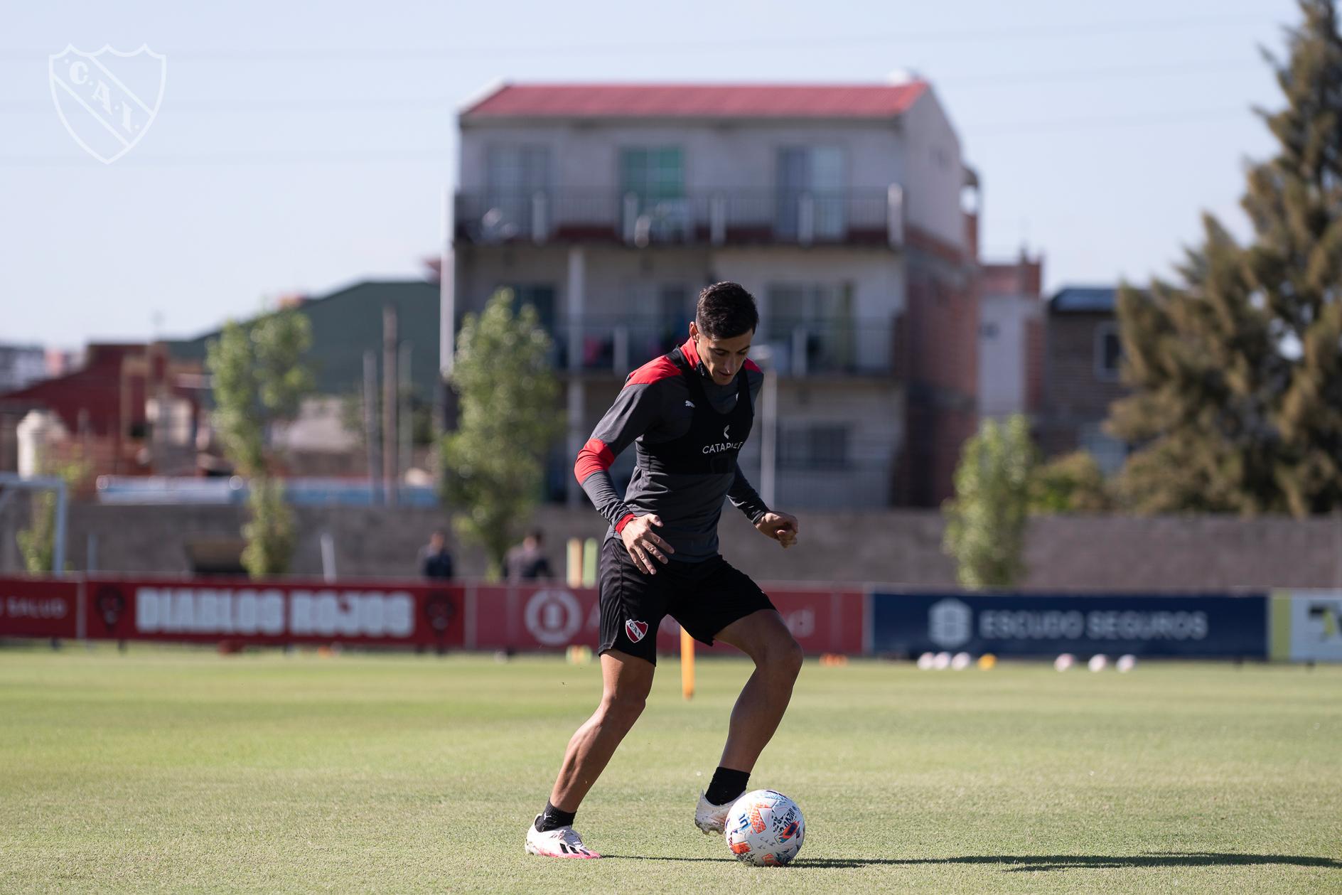 Togni volverá a ser titular en Independiente