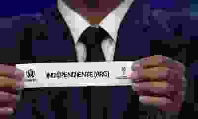Estos son los rivales de Independiente en la fase de grupos de la Copa Sudamericana