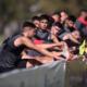 Los futbolistas de Independiente entrenan en Villa Domínico