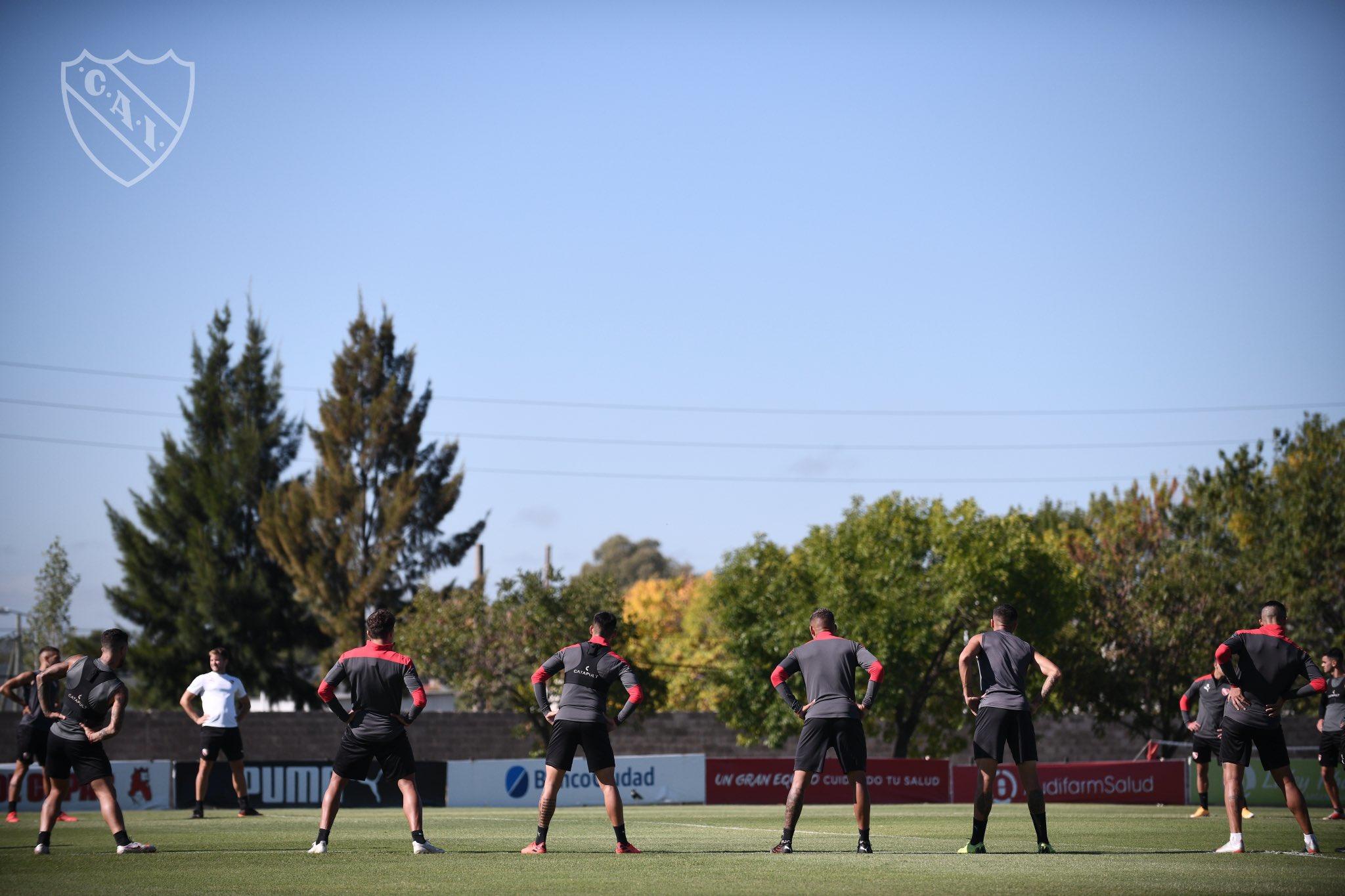 El probable once de Independiente para enfrentar a Talleres