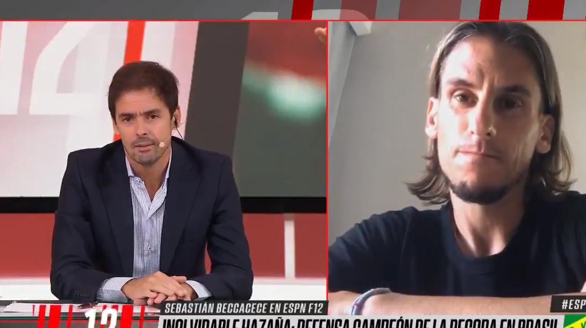 """Sebastián Beccacece: """"En Independiente sentí soledad institucional"""""""
