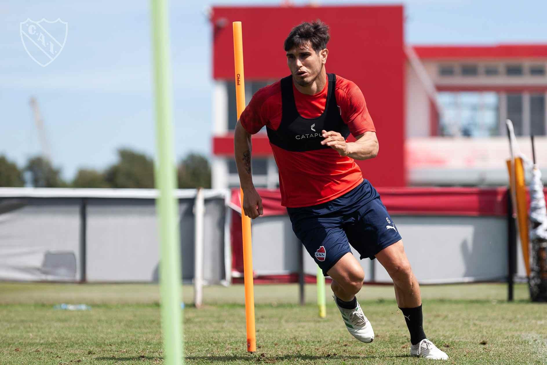 Ezequiel Muñoz volverá a entrenar con el plantel de Independiente en esta pretemporada