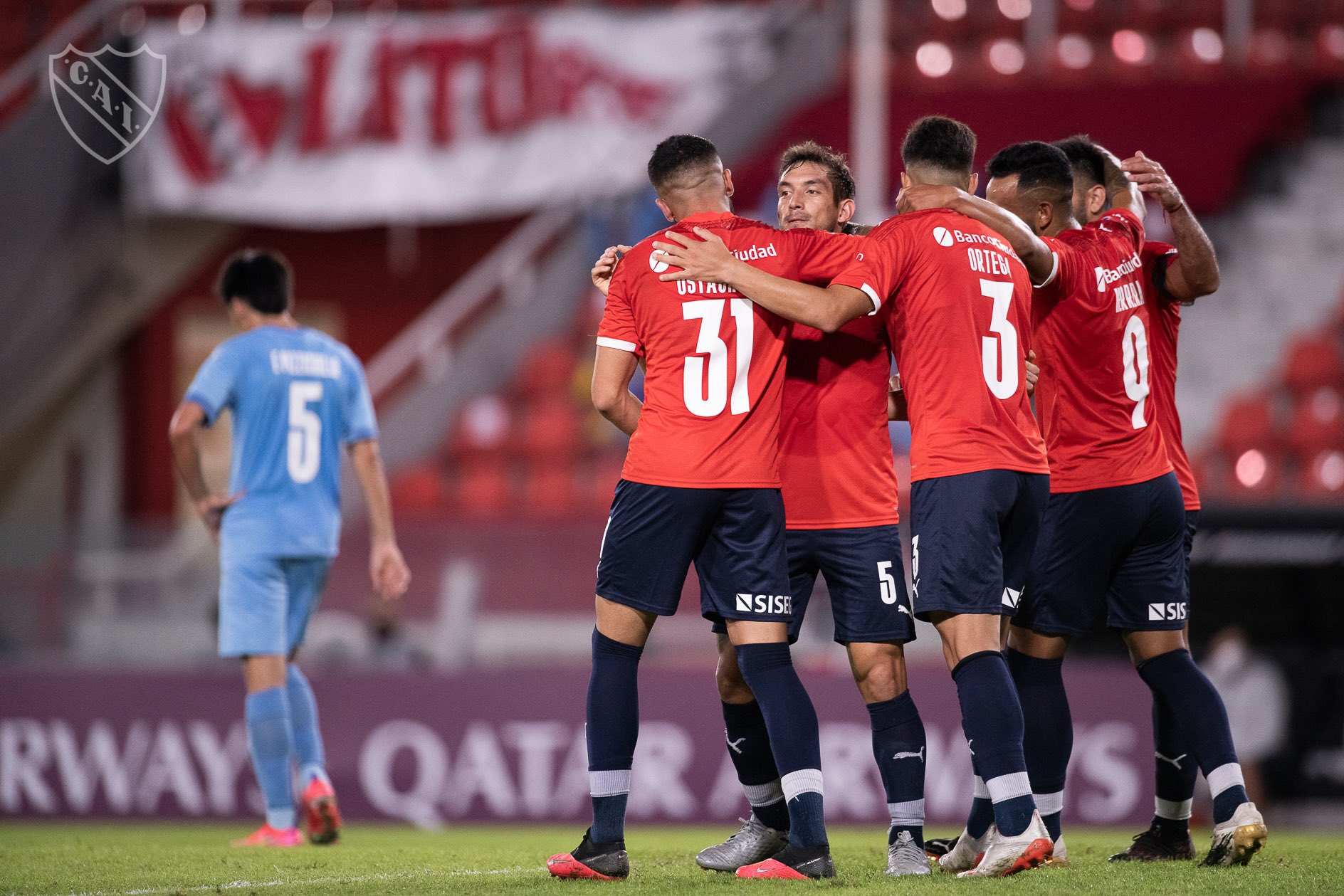 Luego de derrotar a City Torque, Independiente se mide ante Bahía en Brasil