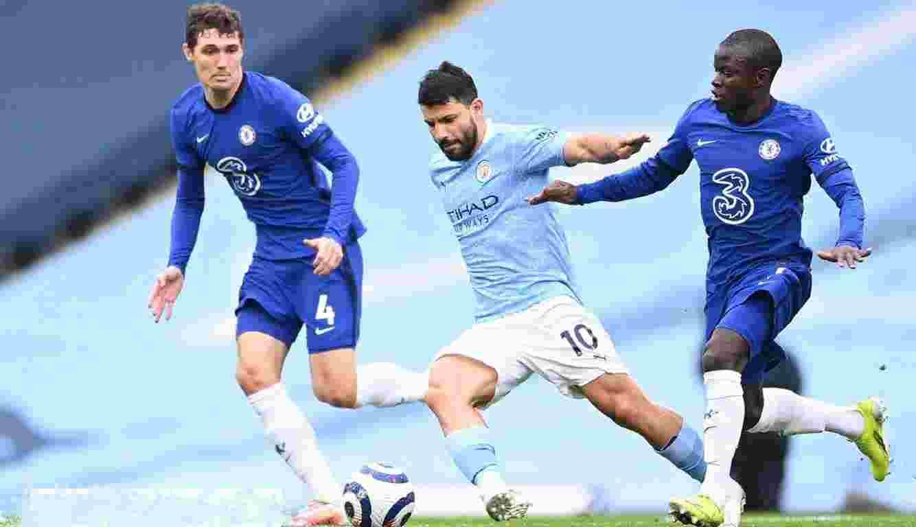 El Kun Agüero está jugando sus últimos partidos con la camiseta del Manchester City