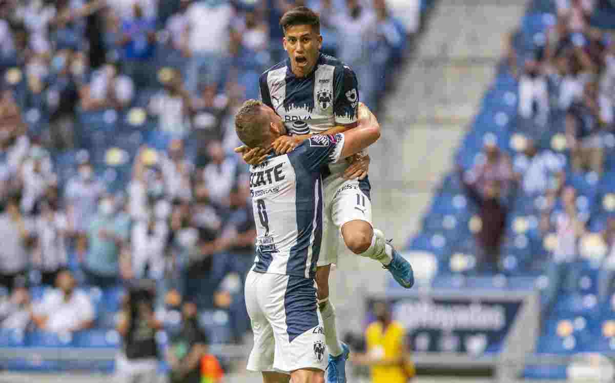 Maximiliano Meza atraviesa un momento de forma fabuloso en el fútbol mexicano