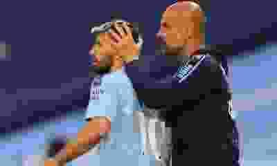 ¿Traición? Pep Guardiola analiza dejar afuera al Kun Agüero de la final de la Champions