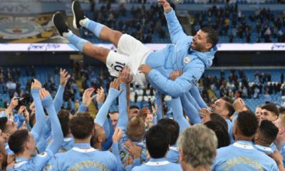 """""""Es algo increíble"""": Kun Agüero habló del emotivo homenaje del Manchester City"""