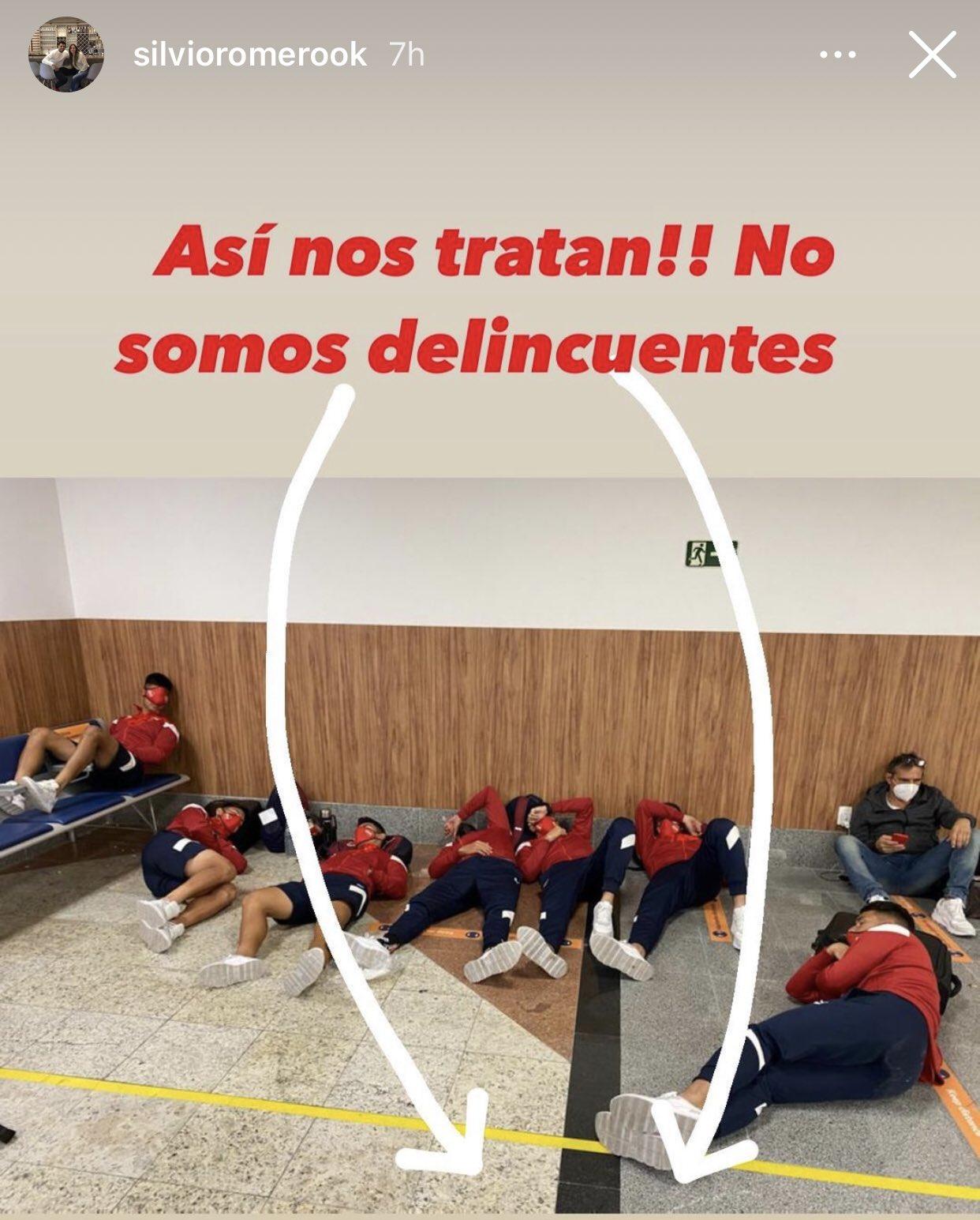 La historia que compartió el Chino Romero, capitán de Independiente, en su cuenta de Instagram