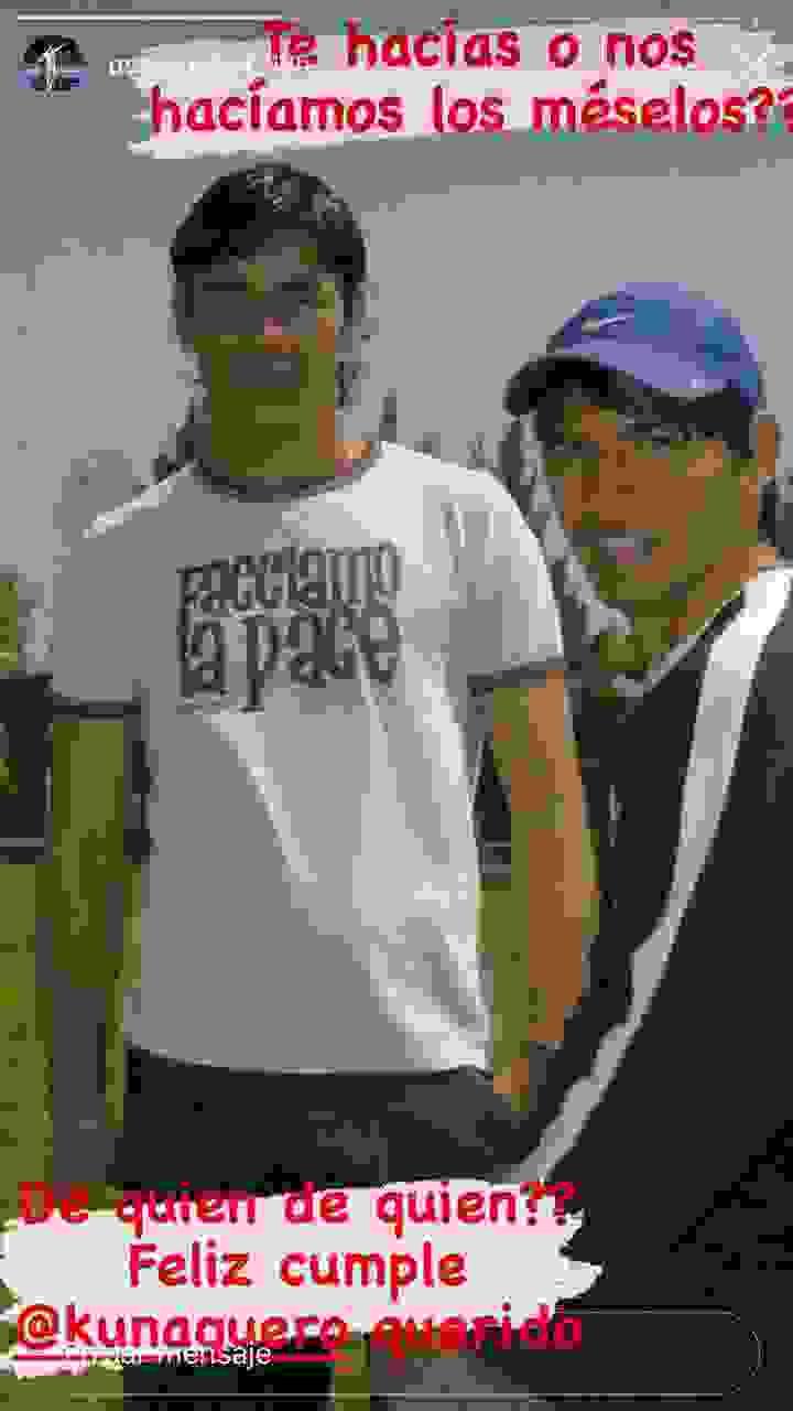 Oscar Ustari saludó al Kun Agüero en el día de su cumpleaños