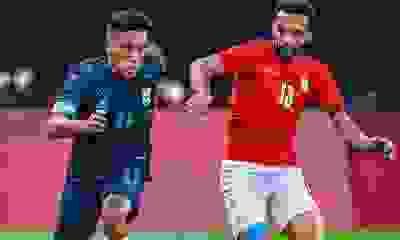 Con Esequiel Barco, Argentina ganó su primer partido en los Juegos Olímpicos