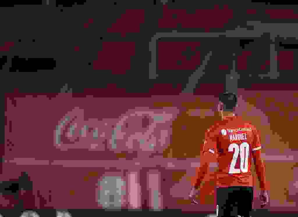El Chila Márquez hizo su presentación oficial en el duelo del domingo ante Argentinos Juniors.