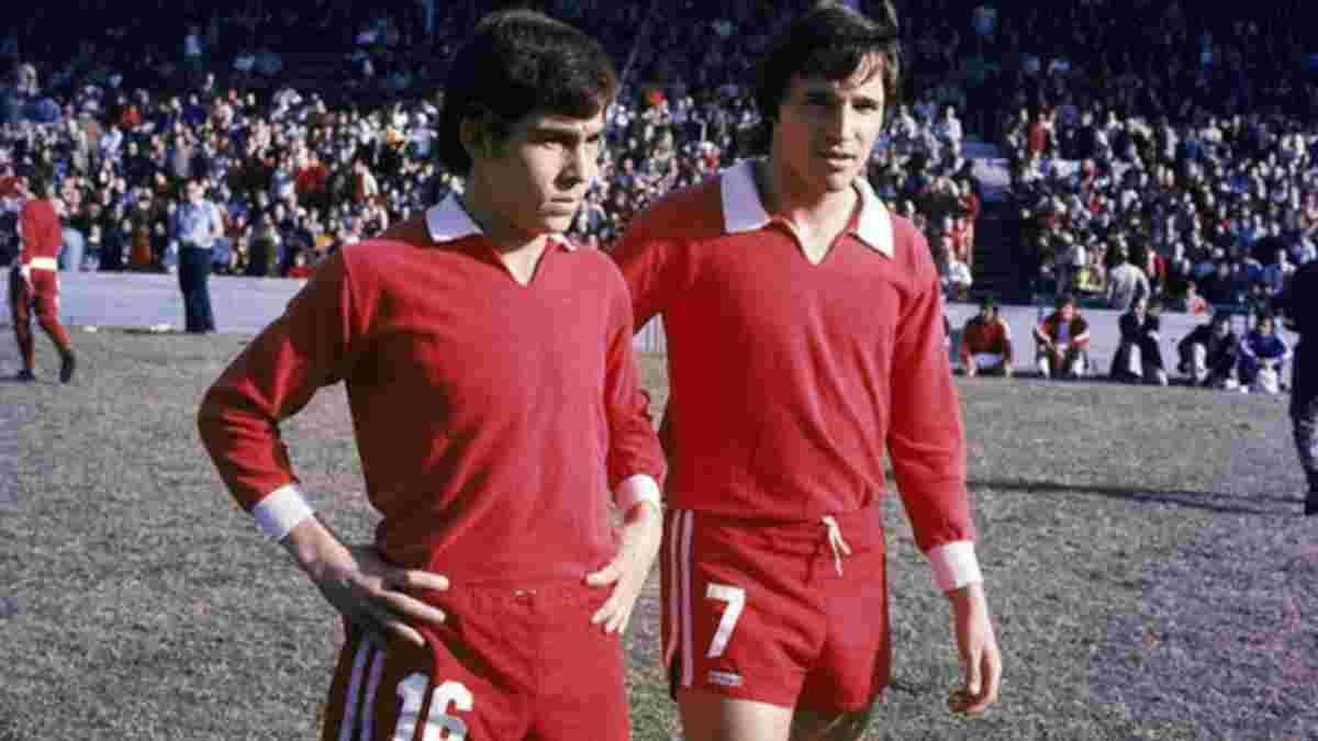 Daniel Bertoni y Ricardo Bochini fueron socios dentro de la cancha y amigos fuera. Ambos son glorias del Club Atlético Independiente.