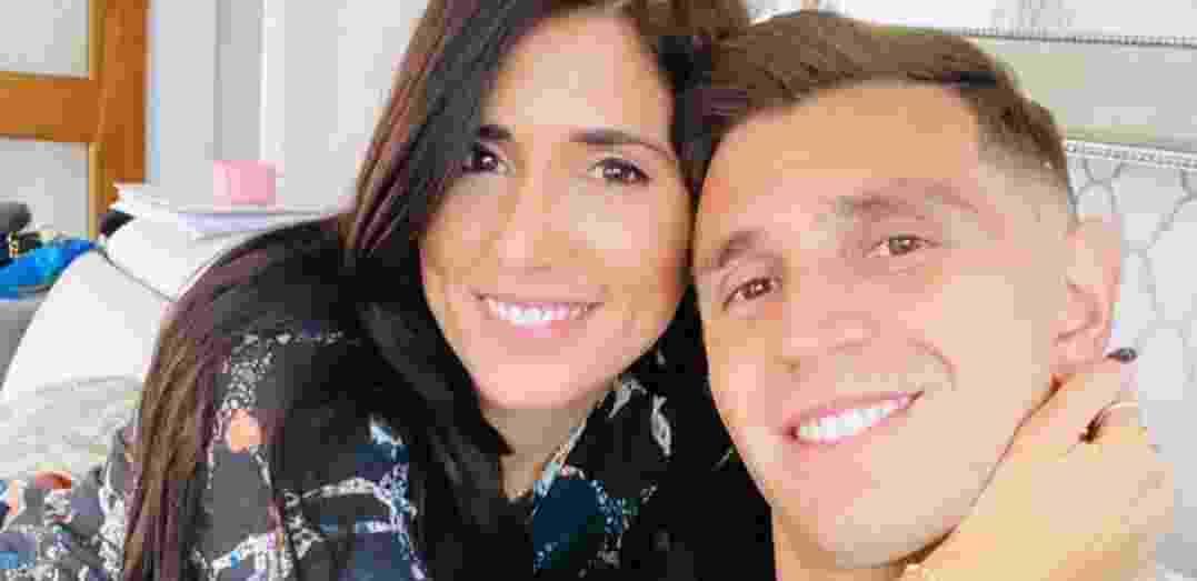 Emoción pura: el momento en el que Dibu Martínez conoció a su hija