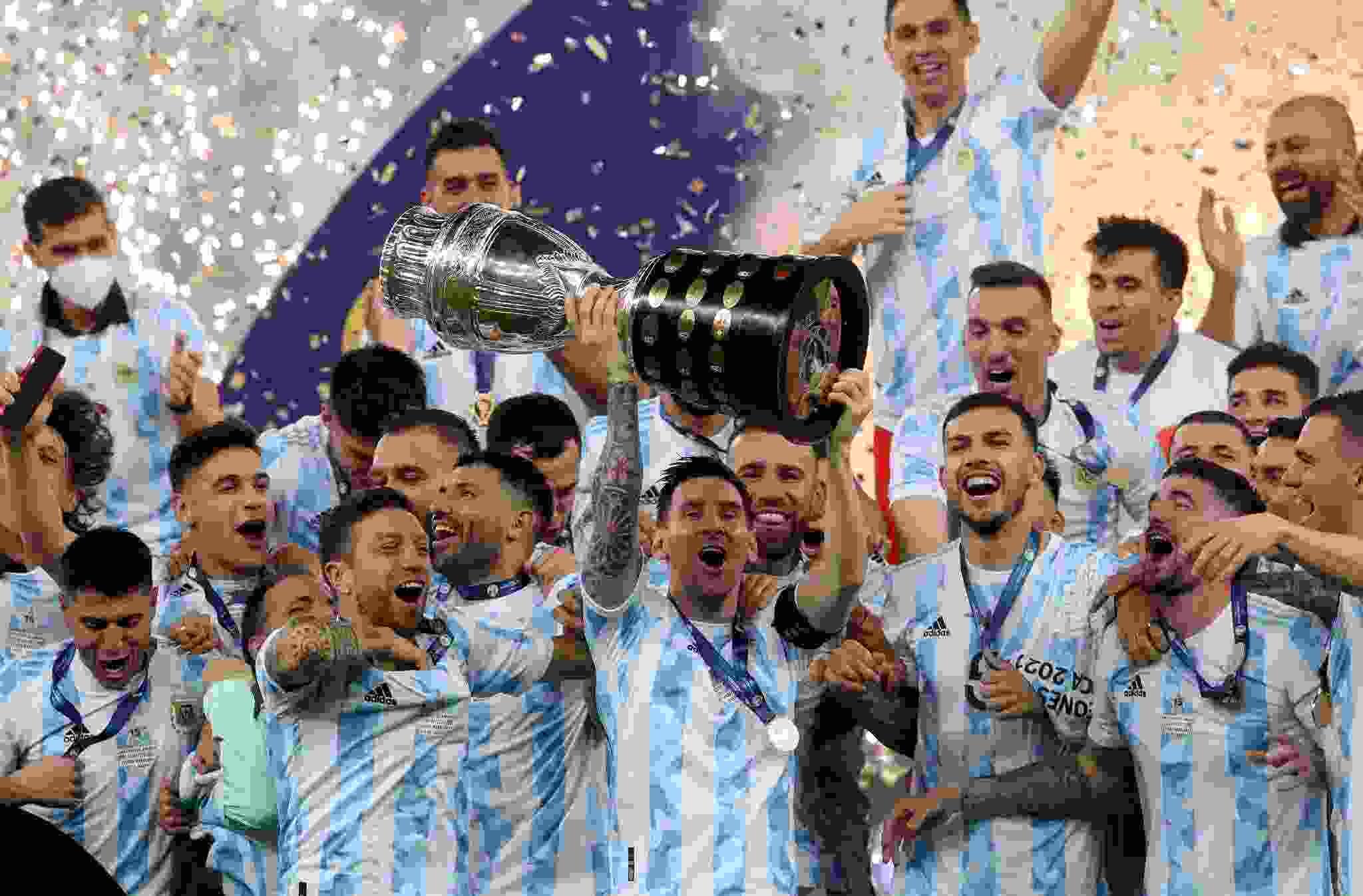 ¡Con un Dibu Martínez brillante, Argentina le ganó a Brasil y es campeón de la Copa América!