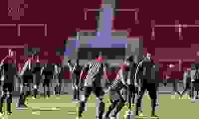 Impensado: un jugador de Independiente concentra para jugar ante Santos