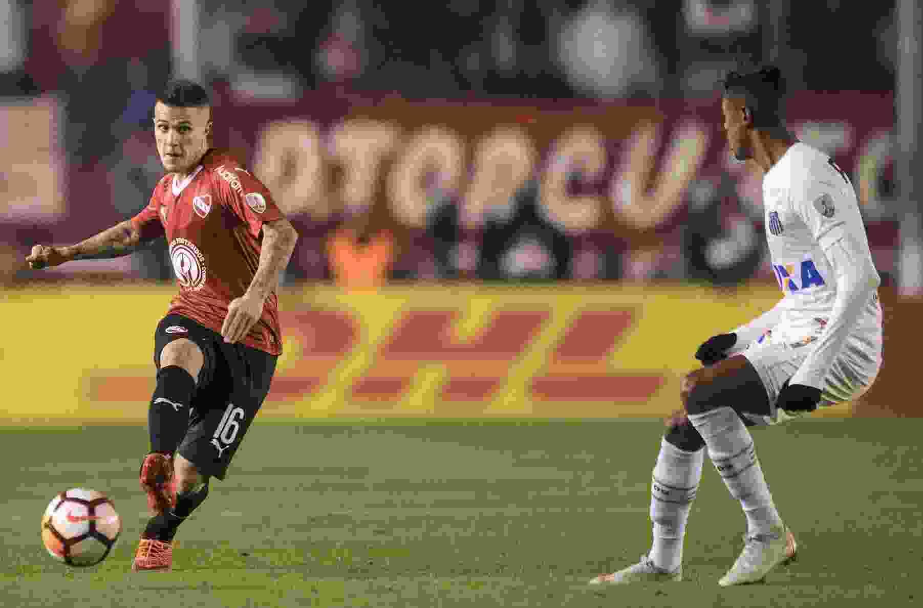 La última vez que se enfrentaron Independiente y Santos fue en el 2018 por la Copa Libertadores.