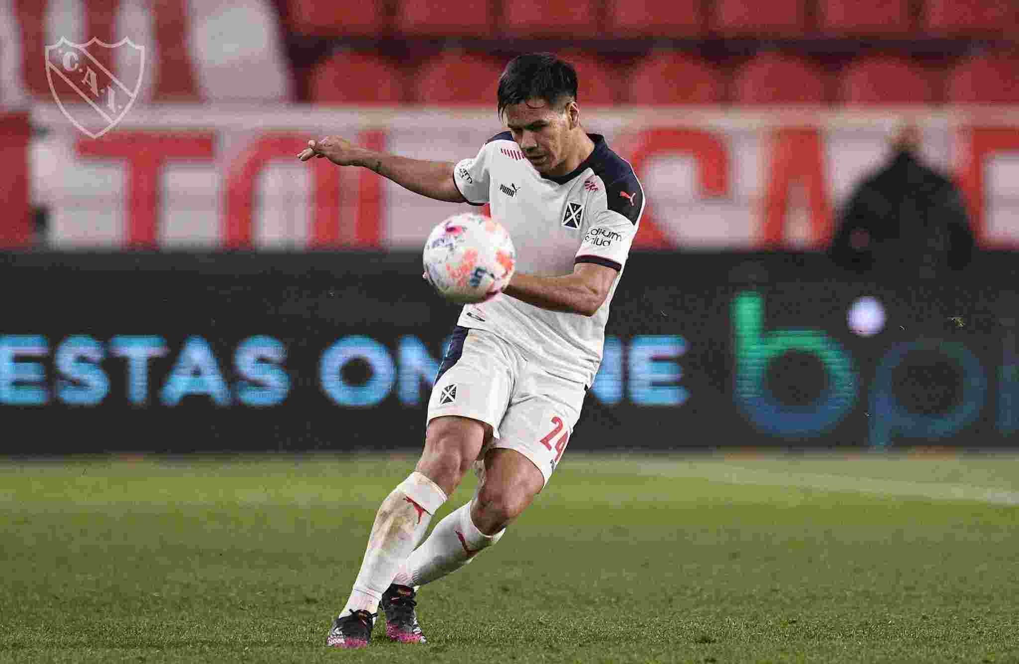 Sergio Barreto es uno de los futbolistas mas regulares que tiene Independiente en este momento.