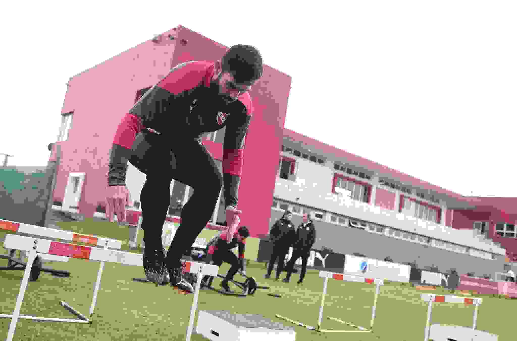 Silvio Romero se prepara en Villa Domínico para afrontar un nuevo semestre.