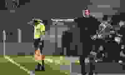 Falcioni fue tajante sobre cómo jugó Independiente