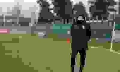 Julio Falcioni no tiene dudas en el once titular que enfrentará a Santos