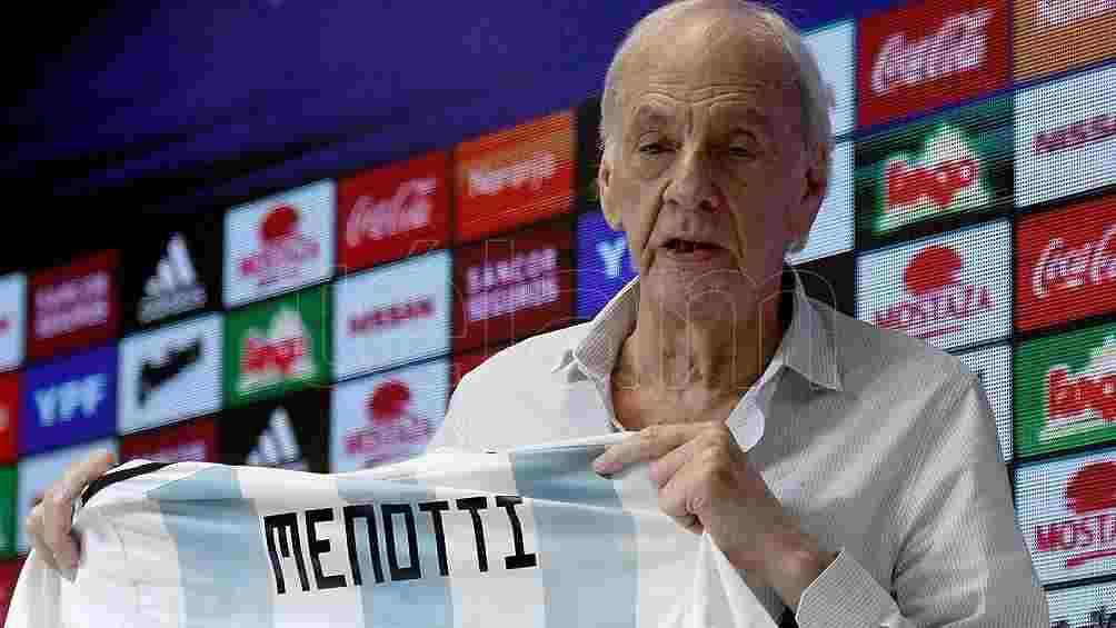 """Menotti emocionado por la Selección: """"No me pasó ni en la Copa del Mundo"""""""