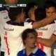 El Chino Romero empató el partido en San Nicolás