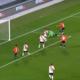 Bustos marcó el primer gol del clásico